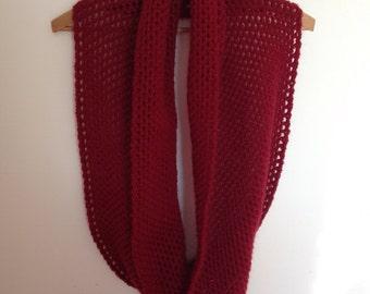Handmade crochet neck warmer