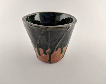 Green Drip Cup