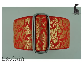Lavinia (Luxury Martingale Dog Collar - Greyhound collar | Galgo collar)