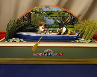 Messing About In Boats -- Mole&Ratty from Wind In The Willows - In Progress - NOT Yet For Sale! !