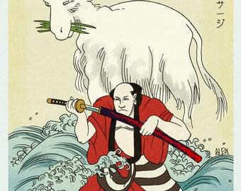 Samurai vs. Goat