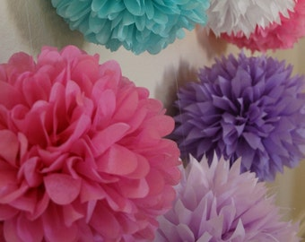 50 poms - choose your colors