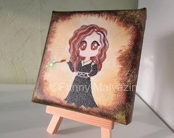 Bellatrix Lestrange (Harry Potter) - Small painting