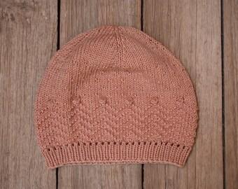 KNITTING PATTERN // VIAJERA beanie // superwash merino wool
