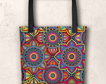 African Style No8, Tote bag