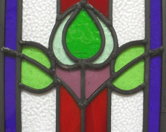 Beautiful leaded Glass Panel