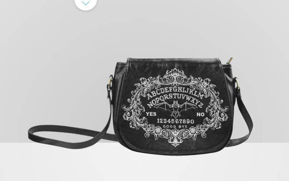 Bat Ouija Saddle Bag