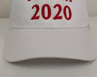 Trump 2020, President Trump, Election, American hat, Embroidered Ballcap, Patriotic, Adjustable Baseball Hat, USA, United States President