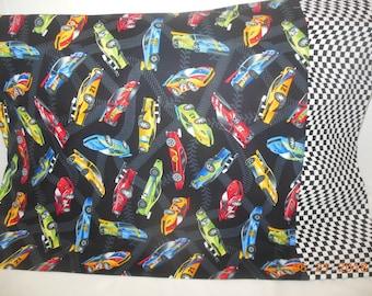 Race Cars Pillowcase