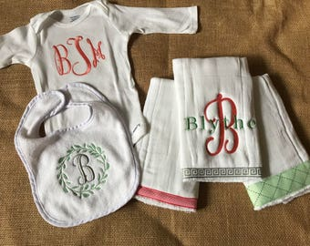 Newborn Layette - Personalized Package