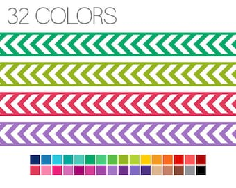 Clipart Borders - Arrow Digital Ribbons - Digital Border Clip Art - Instant Download - Commercial Use