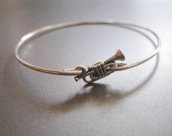 TRUMPET bangle bracelet