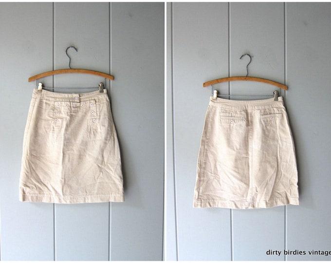 Minimal Canvas Skirt