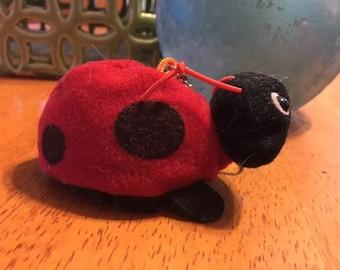 Plush Ladybug Keychain Stuffins