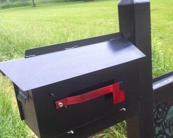 Steel  Custom Mailbox Metal Mailbox Steel Customizable Mailbox