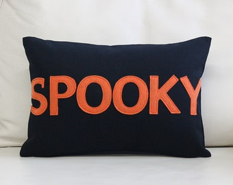 """NEW! Throw Pillow, Decorative Pillow, """"Spooky"""" 10X14 inch throw pillow, NEW!"""