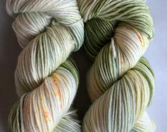 Safety Dance - 75/25 Superwash Merino Wool/ Nylon blend, worsted weight yarn