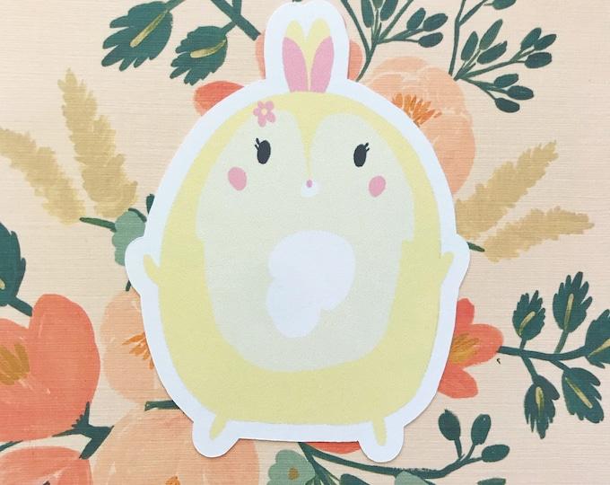 Miss Bunny Inspired Die Cut