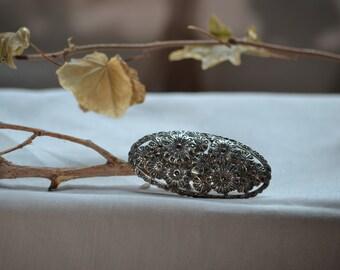 Art deco brooch, Marcasite brooch, Vintage art deco jewellery