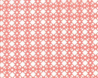 Nest Fabric by Lella Boutiquee for Moda, #5064-22, Rose, Dark Pink - IN STOCK