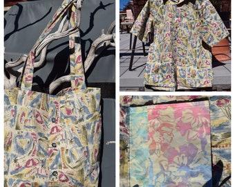 Upcycled Sailing Market Bag