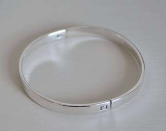 Bangle in Sterling Silver 925/1000