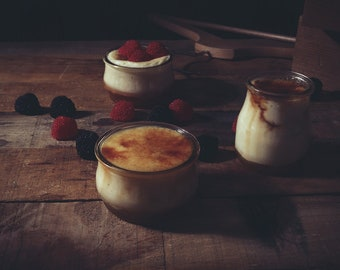 Creme Brulee -Digital Download- Food Photography,Photography, Bakery, Food Print,Yummy