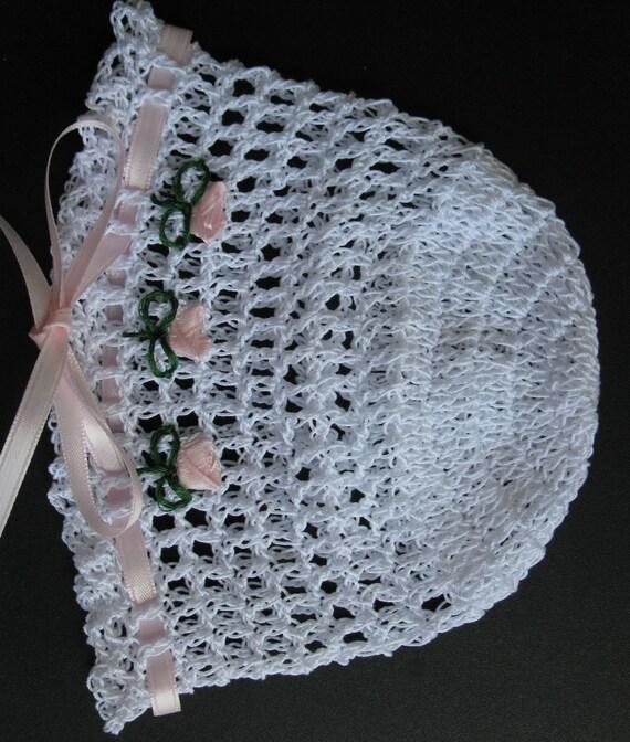 Häkeln Sie Baby Mädchen Hut stricken Neugeborenen Cap