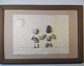 Quadro: Adam & Eve, little square decoration