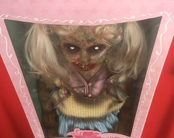 Olivia Dope is a OOAK zombie baby art doll