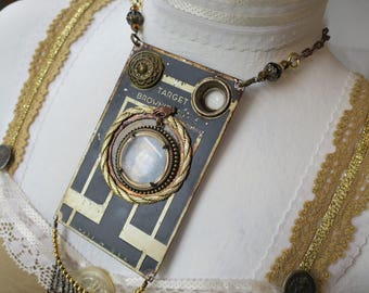 Brownie Camera Necklace