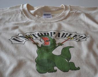 Funny T Shirts for Men - T Shirt - Dinosaur Tshirt - Unstoppable T Rex Shirt - Trex T-shirt