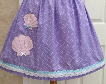 Mermaid Sea Shells Lolita Skirt