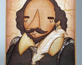 Shakespeare Mini Artist Block