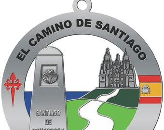 El Camino de Santiago Medal