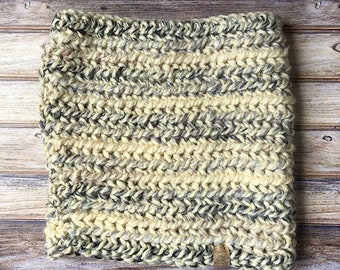 Crochet Cowl // Moonlight // Handknit Cowl // Chunky Knit Cowl // Handmade for her // Gifts for her
