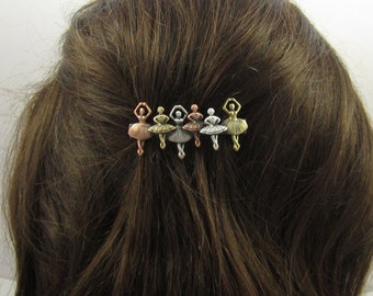 BALLET FRENCH BARRETTE 60mm Small Barrette- Ballerina Gift- Hair Accessories- Hair Clips- French Clip