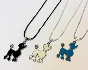 Sale! more poodle dog Necklaces
