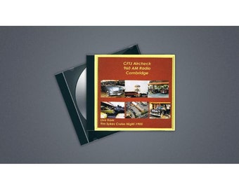 CFTJ 960 AM Radio Station Aircheck MP3 - August 22 1985 - Live from Cruise Night