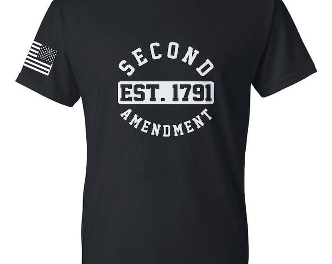 2A - Second Amendment - Mens Shirt - Womens Shirt - 2nd Amendment - Gun Rights - Molon Labe
