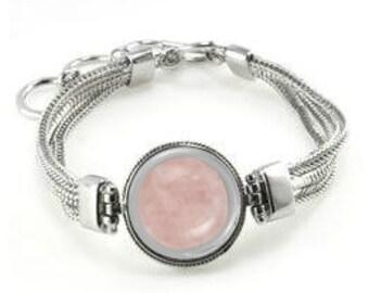 Rose Quartz Bracelet - Rose Quartz Gift - Rose Quartz Jewelry - Rose Quartz - Rose Quartz Gemstone - Gift For Her