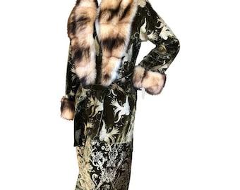 Vintage Cavalli Fur Coat