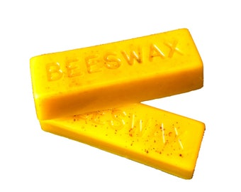 One Ounce 100% Pure Beeswax Bar