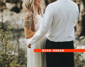 Wedding Ketubah Rush Shipping Upgrade