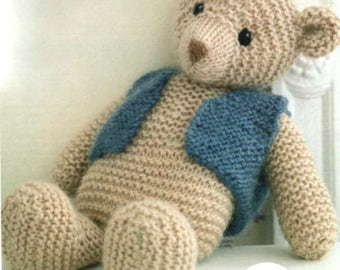 teddy bear knitting pattern 99p pdf