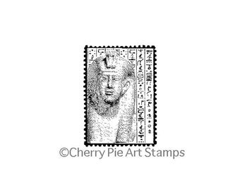 Egyptian POSTOID- CLiNG RuBBer STaMP by Cherry Pie E176