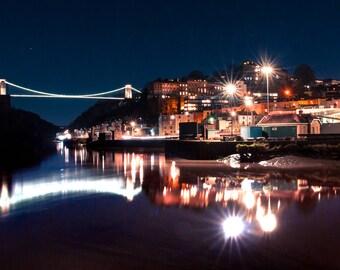 Bristol by Night.