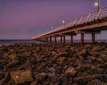 Shorncliffe Jetty Print