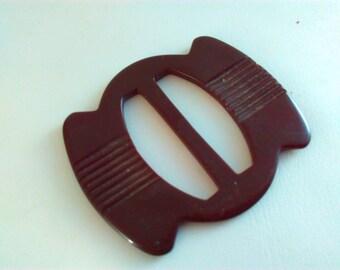 52x45mm Vintage, buckle, brown buckle, art deco buckle, art deco, buckle, lucite buckle, belt buckle, vintage belt buckle vintage buckle #23