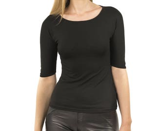 Top Basic Black